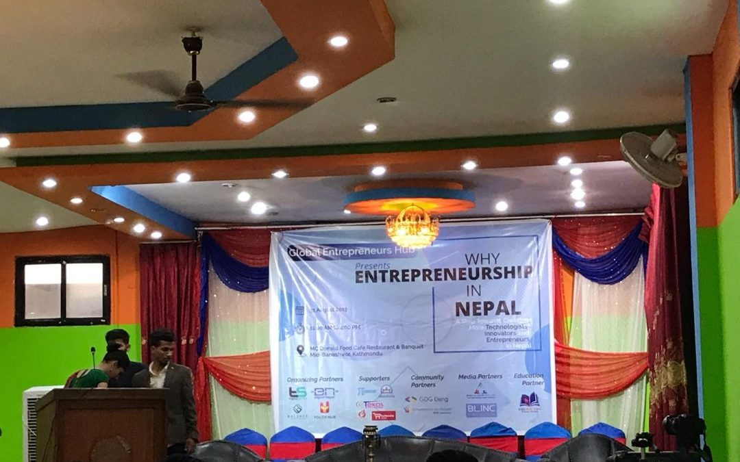 "GCA at ""Why Entrepreneurship in Nepal"""