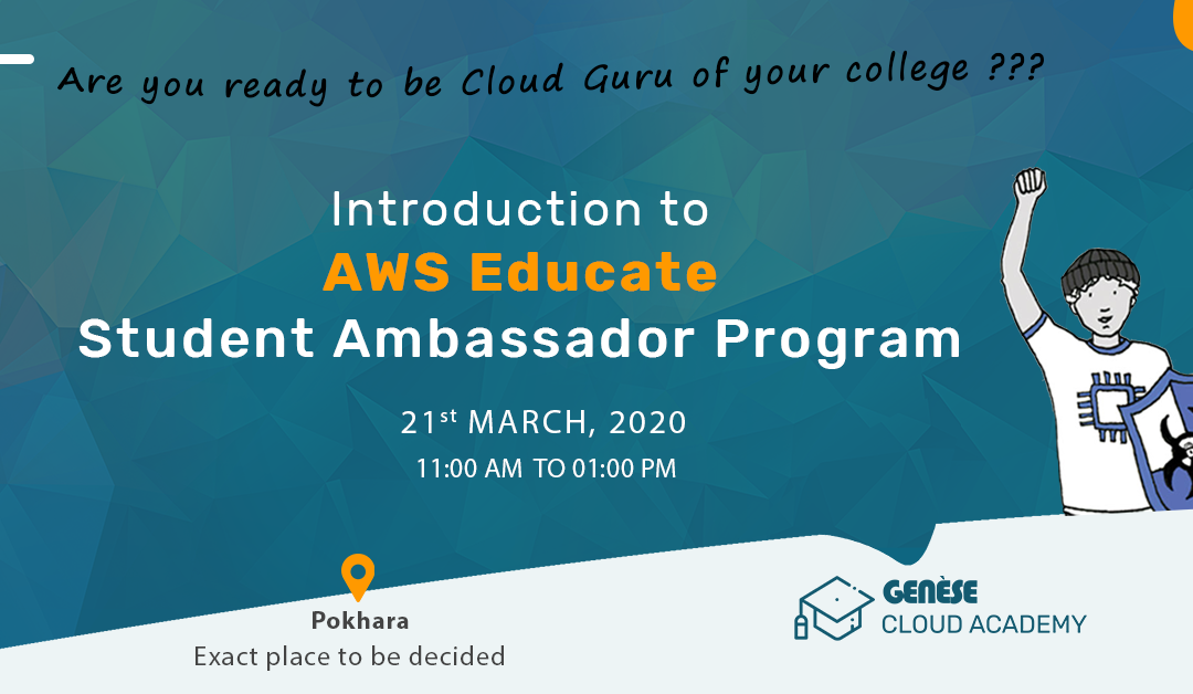 Pokhara | Introduction to AWS Student Ambassador Program