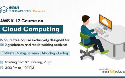 AWS K-12 Course on Cloud Computing