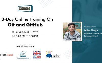 Git and GitHub Training