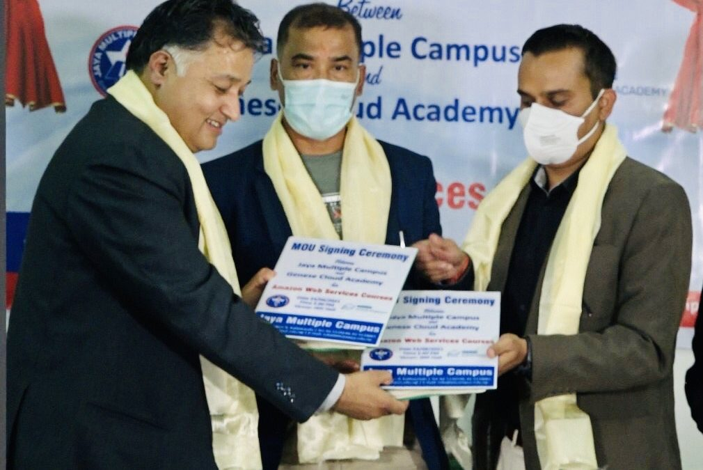 JMC and Genese Cloud Academy join hands together