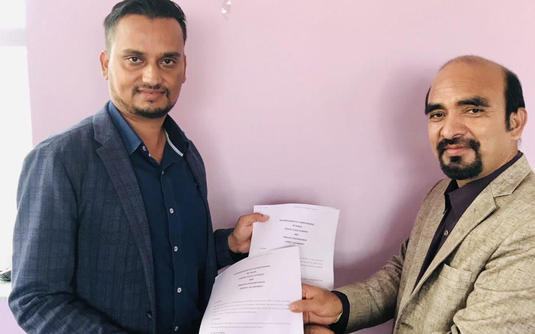 PABSON Gokarneshwor and GCA Sign a Memorandum of Understanding on Digital and Cloud Literacy for 21st-Century Educators